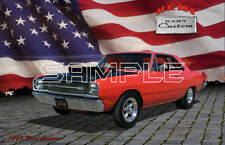 1969 Hemi Dodge Dart American Muscle Print