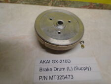 Akai GX-210D 202D-SS Reel To Reel Brake Drum (L) (Supply) P/N MT325473 Used