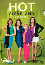 Hot in Cleveland: Season 4 DVDs-Good Condition