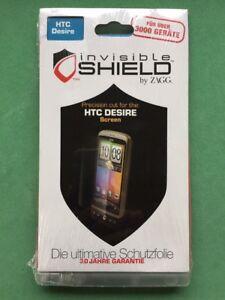 ZAGG invisibleSHIELD Military grade Screen Protector for HTC Desire