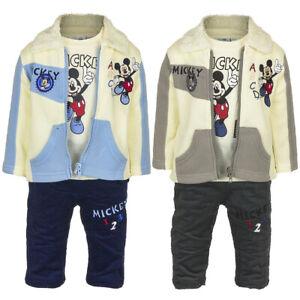 Character Boys Jogging Set Infant Fleece Tracksuit Long Sleeve Lightweight 6-24