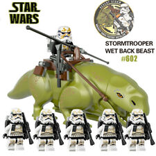 6x STAR WARS set Stormtrooper Dewback Clone Trooper army minifigures figures