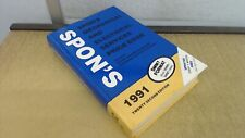 Spons Mechanical and Electrical Services Price Book 1991, Davis L