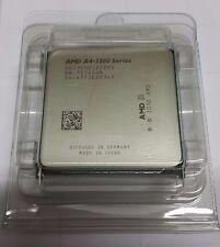 AMD A4-3300 AD33000JZ22HX 2.5 GHz Dual-Core Socket FM1 Processor CPU BULK NUOVO