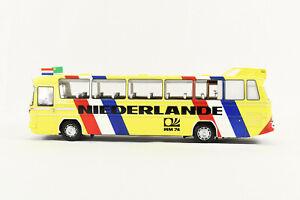 MINICHAMPS 1/43 Mercedes-Benz O 302 Bus 1974 Limited 1 of 510 pcs Diecast NIB