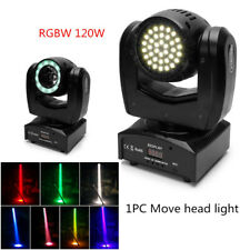 More details for led rgbw beam moving head stage lighting party show light rotation dmx 14ch 120w