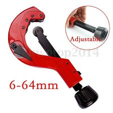 Heavy Duty Quick Release Tube Pipe Cutter Slicer Precision Forging 6-64mm Range