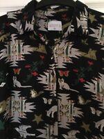 Compania Fantastica super cute animal & butterfly print blouse - Size 16