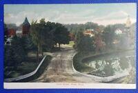 1907 Vintage Postcard: Parks Street, Ware, MA to Swanton, VT / rec'd postmark