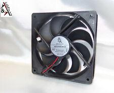 PC Netzteil Lüfter 12cm Fan 120x120x25mm DC 12V sehr leise Kühler 120mm Black