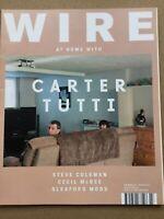 The Wire Magazine #373 - March 2015 - Carter Tutti. Steve Coleman  Cecil McBee