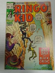 Marvel RINGO KID #10 (1971) Western, Reprints, Bad Day at Black Rock, Fred Kida