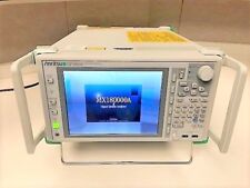 Anritsu MP1800A Signal  Analyzer w/opts and, MU181020A, MU181040A MU181800A