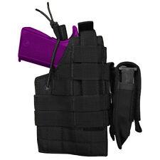Condor Beretta MOLLE Pistol Handgun Ambidextrous Holster w/ Mag Pouch BLACK