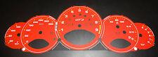 Porsche 911 997 GT3 - Zifferblätter rot, bis 350 km/h Neu