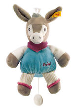 Steiff Baby New Musical Issy Donkey Made In Germany