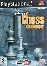 Play it Chess Challenger Sony Playstation 2 ps2 3+ nagelneu und versiegelt