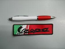 toppa patch VESPA embroidery ITALIA ricamato termoadesivo 12x3 cm