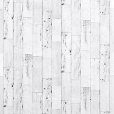 Weathered Wood Panel Wallpaper Self Adhesive Contact Paper Wall Sticker Roll