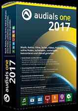 Audials One 2017 CD/DVD EAN 4023126118813  inkl. Privacy Suite 18 auf CD