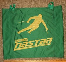 NASTAR Nature Valley wide bright green Gate Panel ski racing gate flag