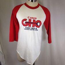 Screen Stars Ringer Jersey T-Shirt Cannon GHO Golf Sammy Davis Jr Hartford Open
