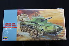 XO122 HASEGAWA 1/72 maquette tank char 31126 MT26 500 British Army Cruiser Tank