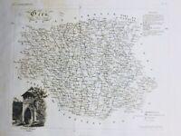 Gers en 1836 Fontaine Antique de Lectoure Auch Marciac Estange Aubiet Cezan
