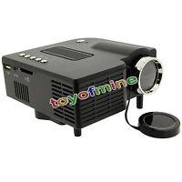 Lumen LED Video Projector 1080P HD 3D Home Cinema HDMI USB SD Multimedia AV
