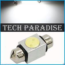 2x Ampoule 36mm C3W C5W C7W C10W LED Xenon 4W Blanc White plaque Navette Festoon