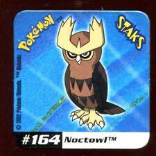 STAKS MAGNET AIMANT POKEMON N° 164 NOCTOWL E