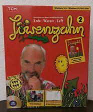 PC CD Lern Spiel Löwenzahn 2 Erde Wasser Luft Big Box TCM Peter Lustig Neu OVP