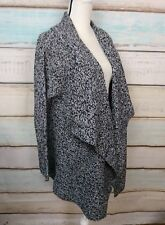 NEW WOMAN WITHIN SHAKER KNIT OVER SIZED CARDIGAN OPEN FRONT SWEATER SIZE 4X