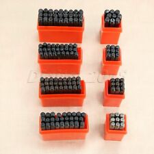 2/2.5/3/5mm A-Z Letters 0-9 Numbers Stamp Punch Set Steel Metal Leathercraft Die