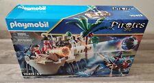 Playmobil Pirate Musketeer 4 x Gun Pistol Box Silver Top Blank