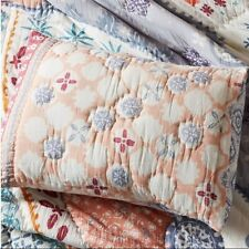 ANTHROPOLOGIE Laterza Collection Standard Sham set NWT open box