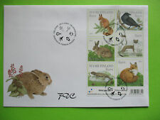 FDC 2004 forest animal  ,  miniature sheet