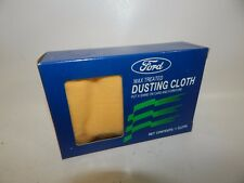NOS Ford Motor OEM Wax Treated Polish Dusting Cloth Car Home Vintage 26 x 15