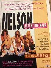 Matthew and Gunnar Nelson, After the Rain, Full Page Vintage Promotional Ad