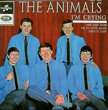CD Single The ANIMALS 	I'm crying - EP REPLICA - 4-track CARD SLEEVE - French sl