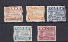 1924 Nauru Ships Selection 5 Stamps SG 26 to 35 Used