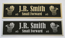 J.R. Smith nameplate for signed basketball photo jersey or case