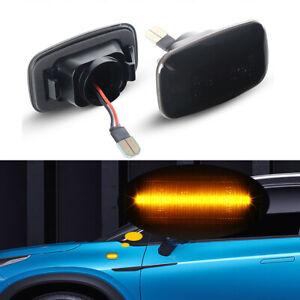 For Toyota Land Cruiser 70 80 100 Series Pair Smoke Side Marker LED Signal Light