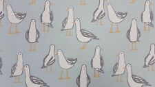Clarke and Clarke Laridae Duckegg Seagulls Curtain Craft Upholstery Fabric