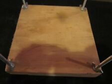 HAND MADE WOODEN FLOWER PRESS NEVER USED
