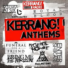 KERRANG ANTHEMS 2CD Various Artists (Released October 28th 2016)