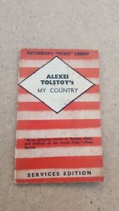 Tolstoy's My Country Services Edition fighting forces  Edition ww2