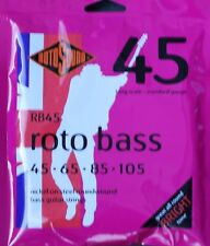 Rotosound RotoBass RB45 45-105 Nickel Strings Rotobass from Guitars Wales