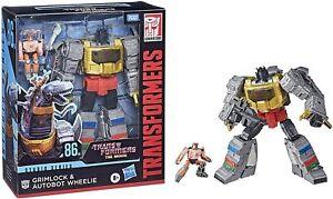 Transformers Studio Series Transformers: The Movie Grimlock and Autobot Wheelie