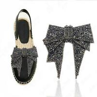 Grey Bunny Shoe-Doodle goes in holes of Rubber Shoes or Crocs Shoe Charm StB003